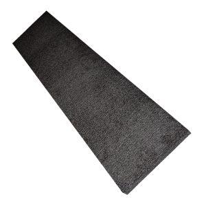 black wall cushion, white background