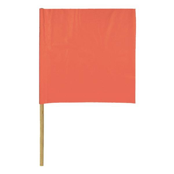 Red Flag, white background