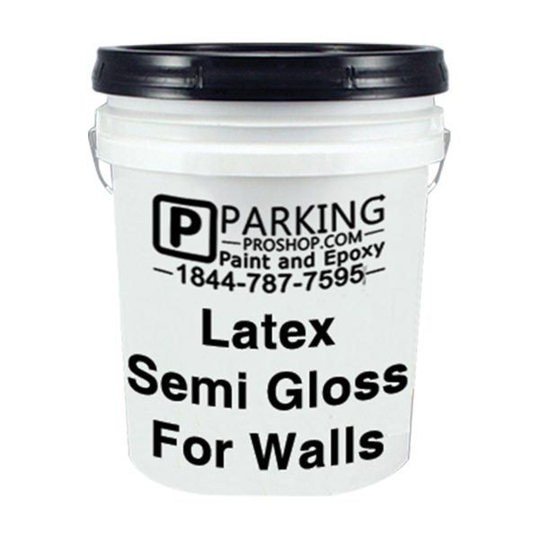 White Latex Semi Gloss For Walls Gallon, white background